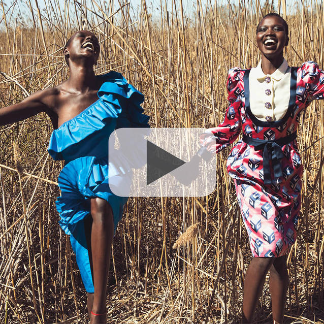 Watch Now: Go Behind-The-Scenes On Our April Issue Cover Shoot Celebrating Diversity