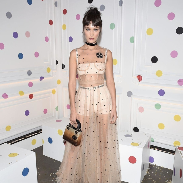 Dior's Art Of Colour Exhibition Is Bringing Bella Hadid to Dubai Mall
