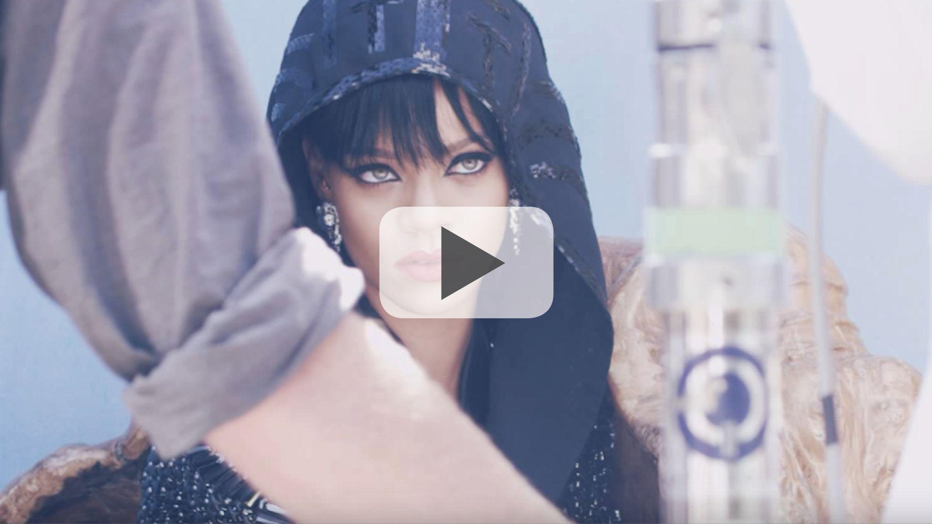 Watch Now: Go Behind-The-Scenes On Our Cover Shoot With Rihanna