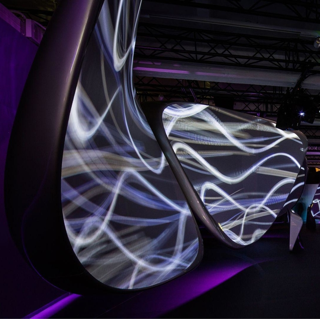 Zaha Hadid Collaborates With Samsung