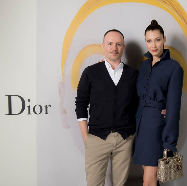 Bella Hadid Joins Peter Phillips In Dubai For Dior's The Art of Color