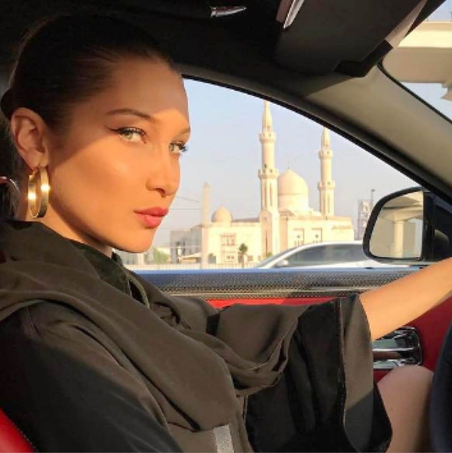 Inside Bella Hadid's Trip To Dubai