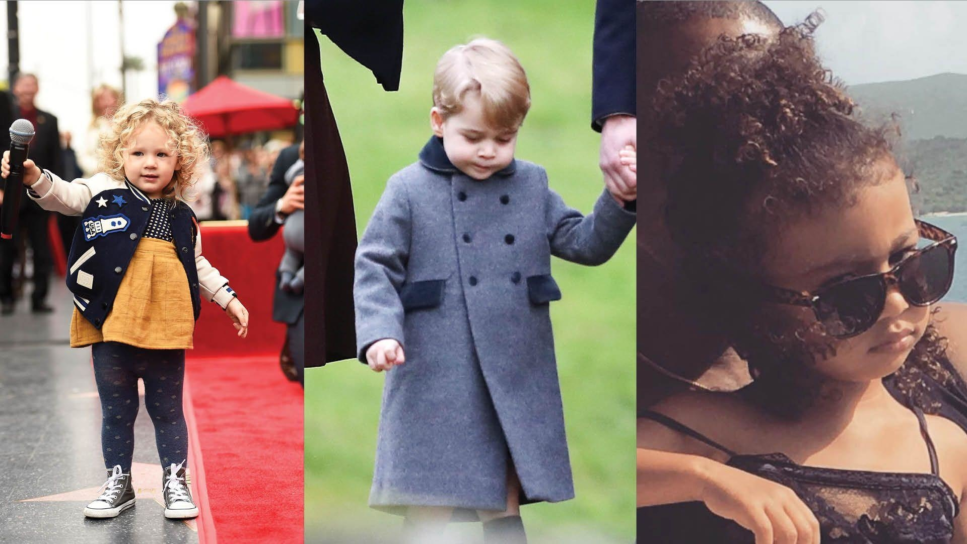 10 Most Stylish Celebrity Kids
