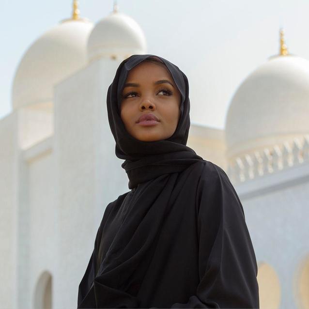 Runway To Runway: Halima Aden In Abu Dhabi With Etihad