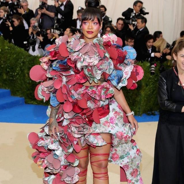 Rihanna Once Again Won The Met Gala Theme