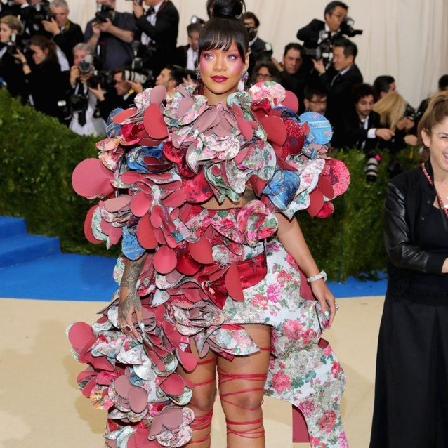 Rihanna Once Again Won The Met Gala Theme