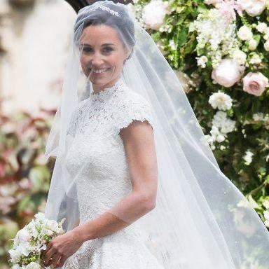 Pippa Middleton Weds James Matthews In Giles Deacon