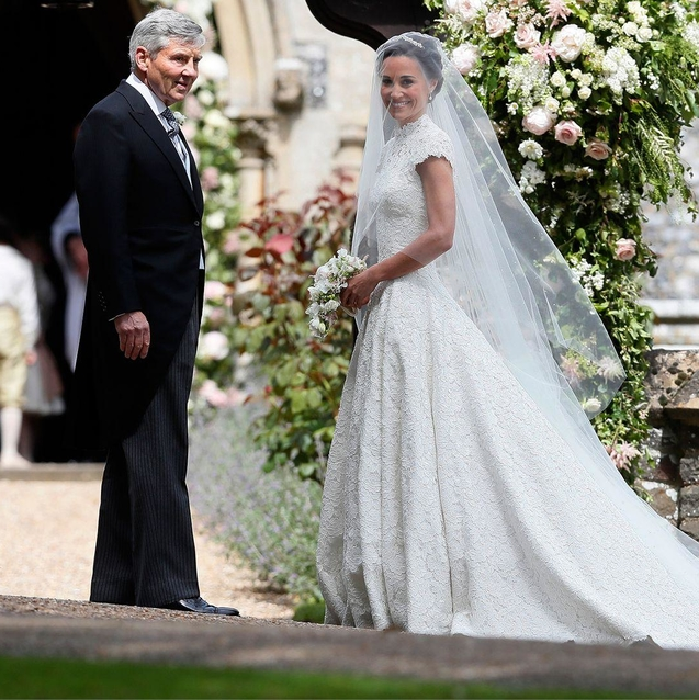 Giles Deacon Reveals More Details About Pippa's Wedding Dress