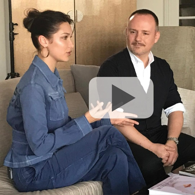 Bella Hadid And Peter Philips Talk All Things Beauty With Bazaar