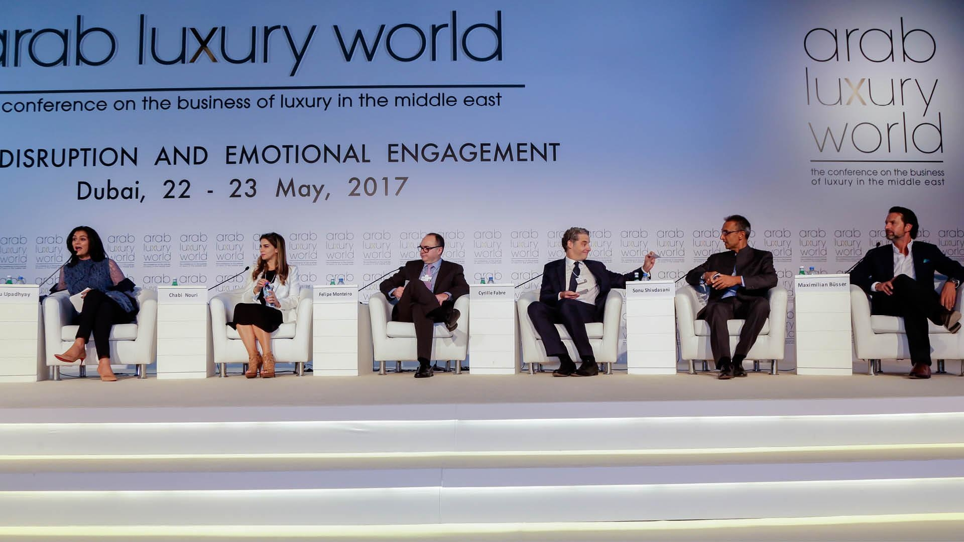 Jewellery And Timepieces At 2017 Arab Luxury World Conference