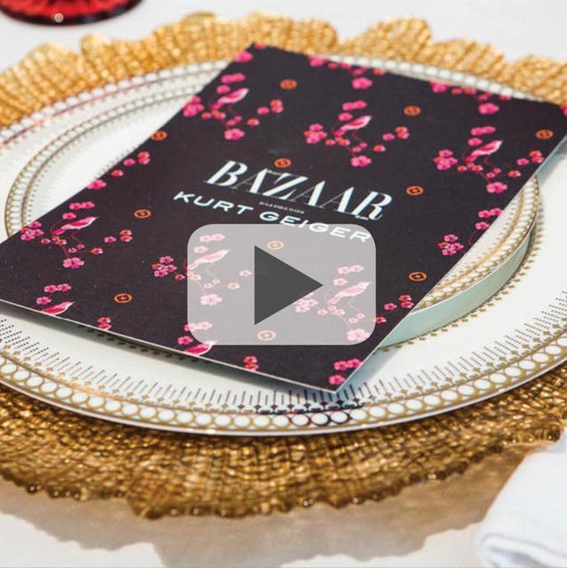 Afternoon Tea With Kurt Geiger & Harper's Bazaar Arabia