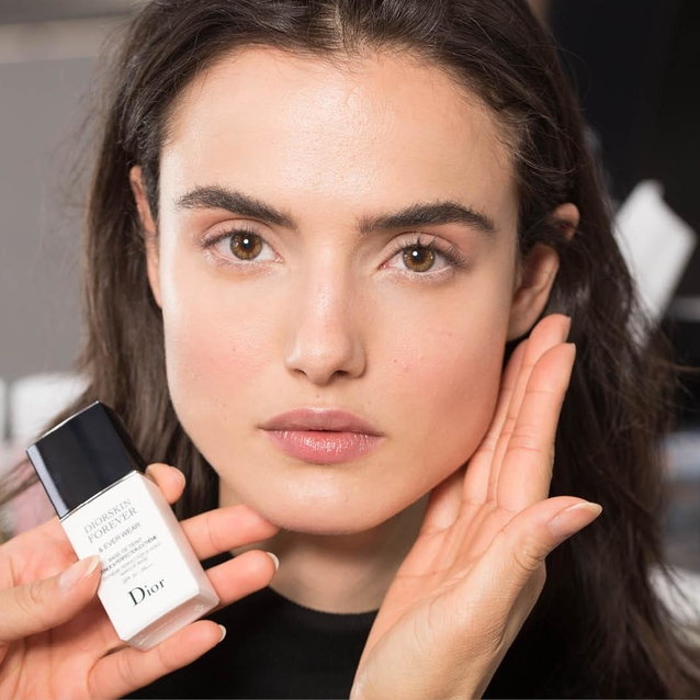 This Is How Peter Philips Created The No-Make-Up Look at Dior Cruise