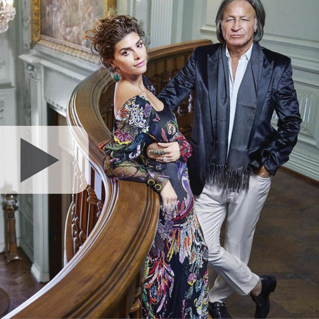 Former Bazaar Interiors Cover Stars Mohamed Hadid & Shiva Safai Feature In E! Reality TV Show