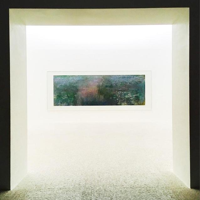 Claude Monet at the Chichu Art Museum, Benesse Art Site, Naoshima