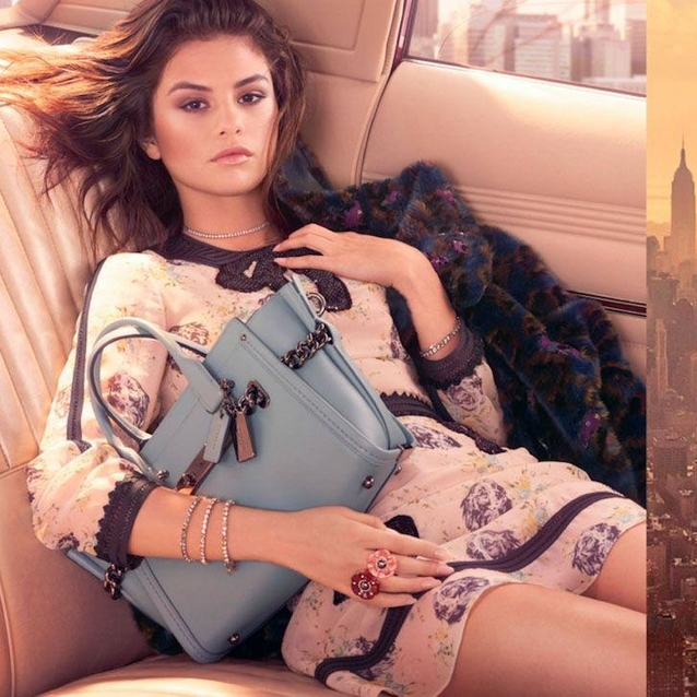 Selena Gomez's First Campaign For Coach Is Here