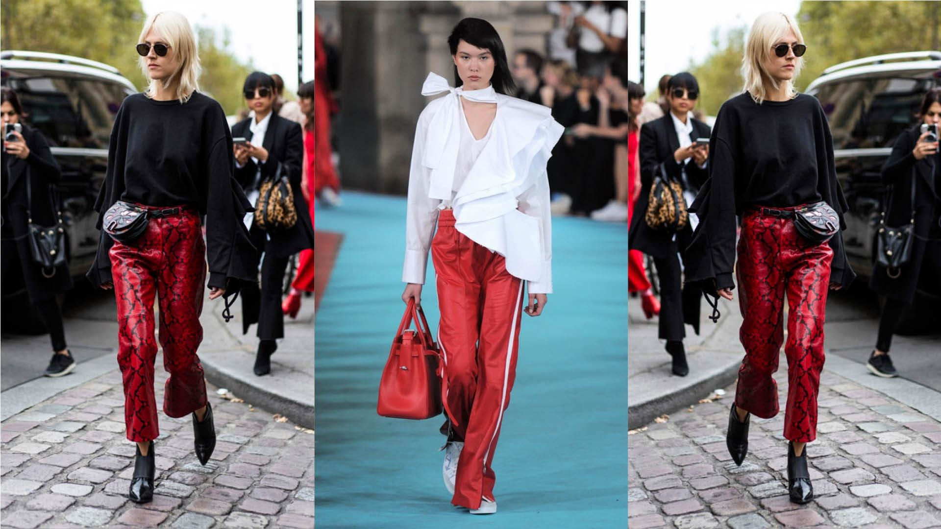 Summer Styling: Red & White All Over
