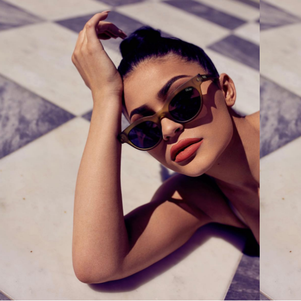 Kylie Jenner Teams Up With Quay Australia For An Exclusive Collection