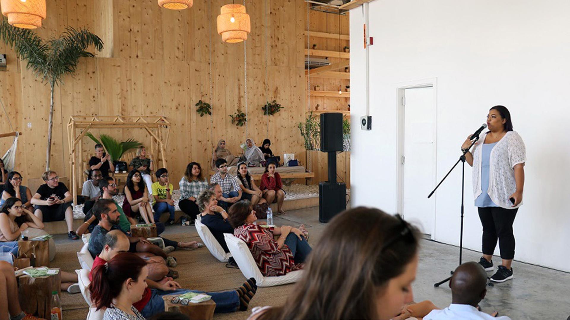 Alserkal Avenue Hosts Afra Atiq To Launch Literaturhaus At Nadi
