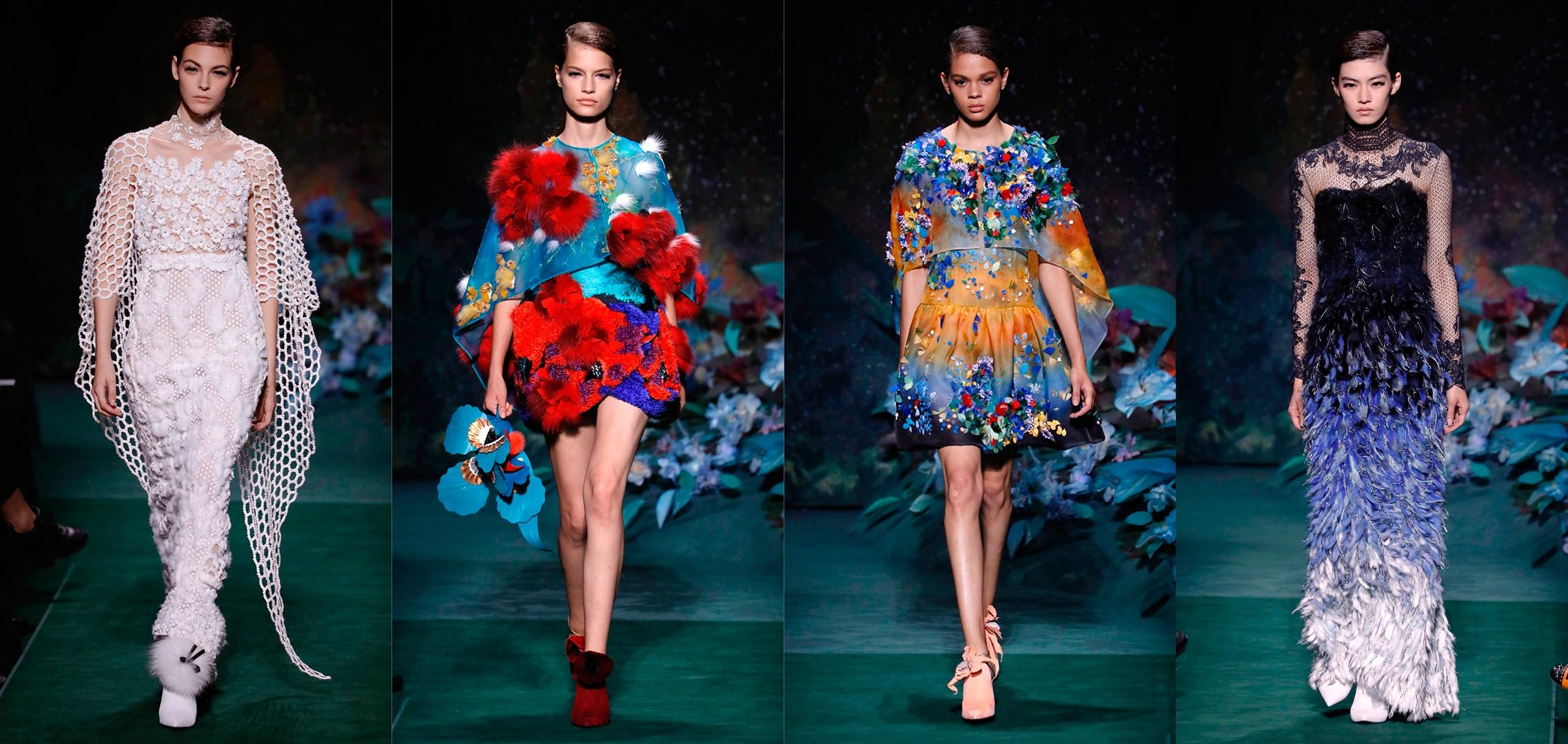 Inside Fendi's Floral Couture Fantasy