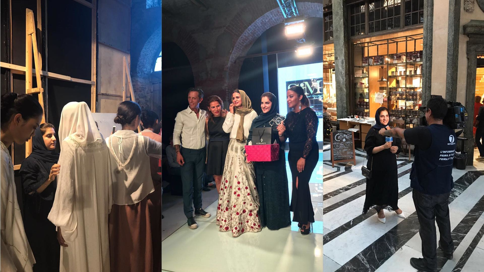 Exclusive: Omani Designer Amal Al Raisi Shares Her Torino Fashion Week Diary