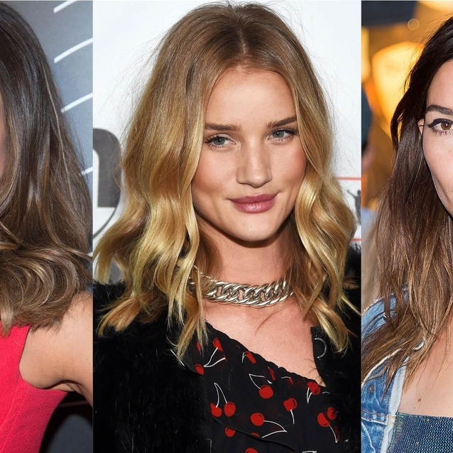 10 Celebrity Balayage Hair Looks We Love