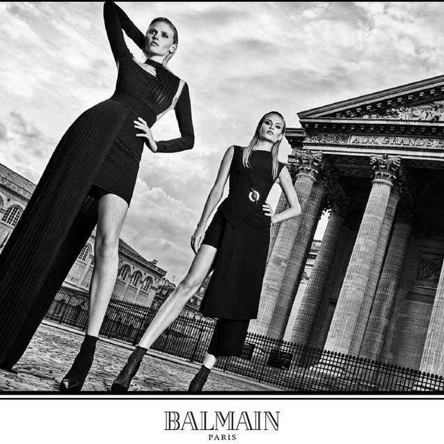 Olivier Rousteing Shoots His First Balmain Campaign
