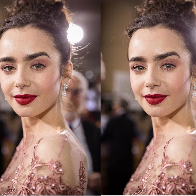 Lily Collins Calls Out The Fashion Industry On Unhealthy Runway Sizing