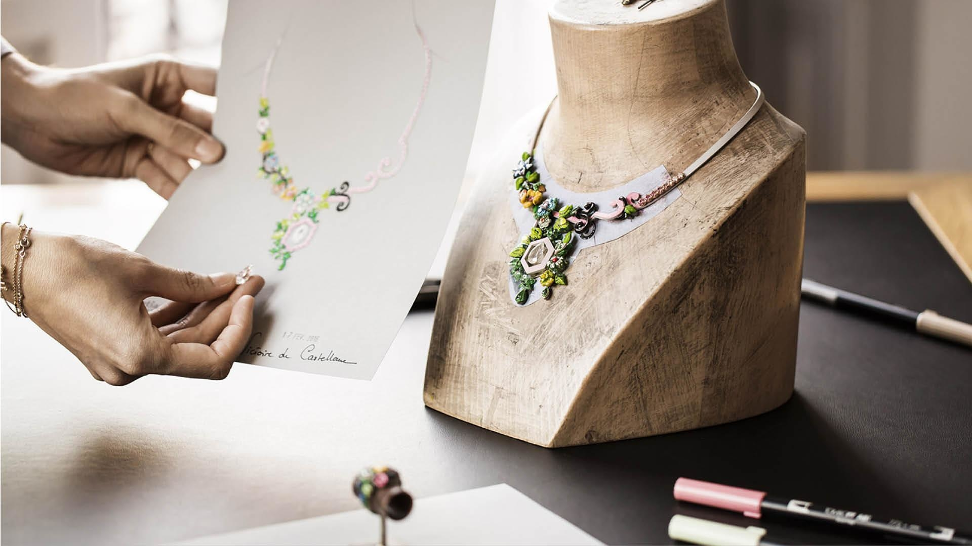 "Take A Botanical Stroll With The Latest ""Côté Jardin"" Jewels From Dior"