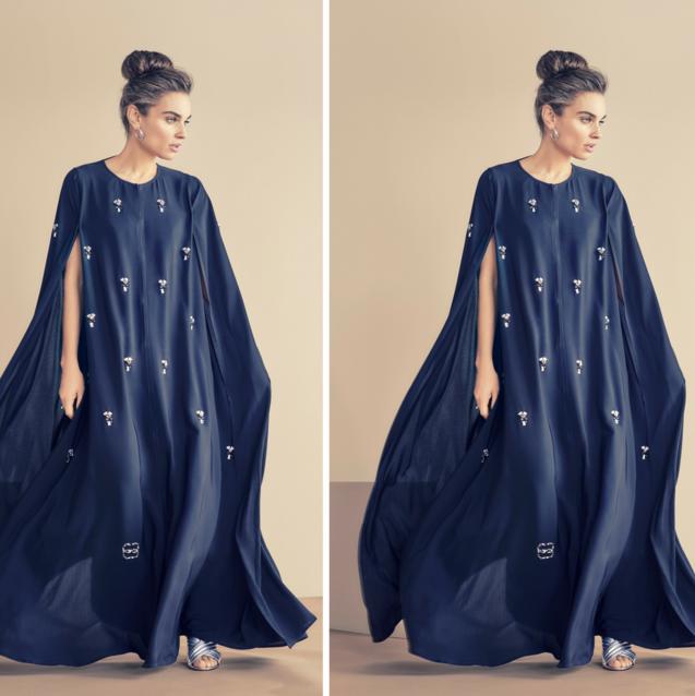 Two Kuwaiti Abaya Brands Have Partnered With Swarovski For Eid Al-Adha