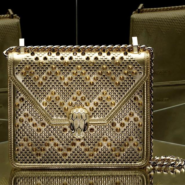 Nicholas Kirkwood Reimagines Bulgari's Iconic Serpenti bag
