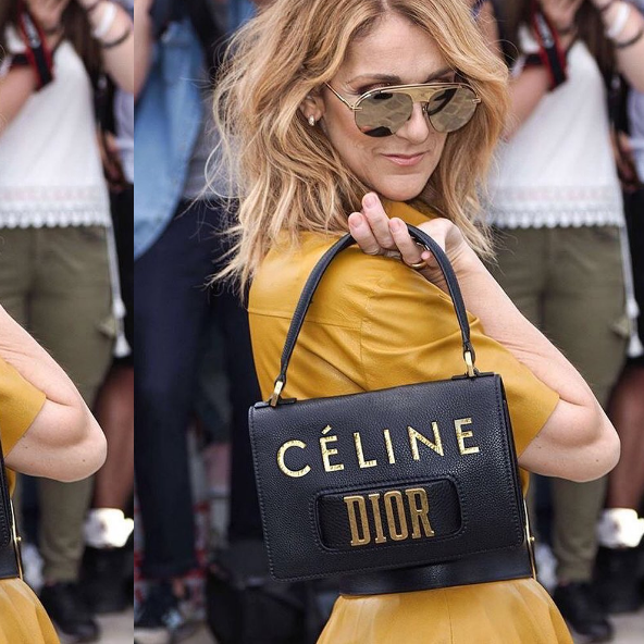 The Real Story Behind Céline Dion's Personalised Dior Bag