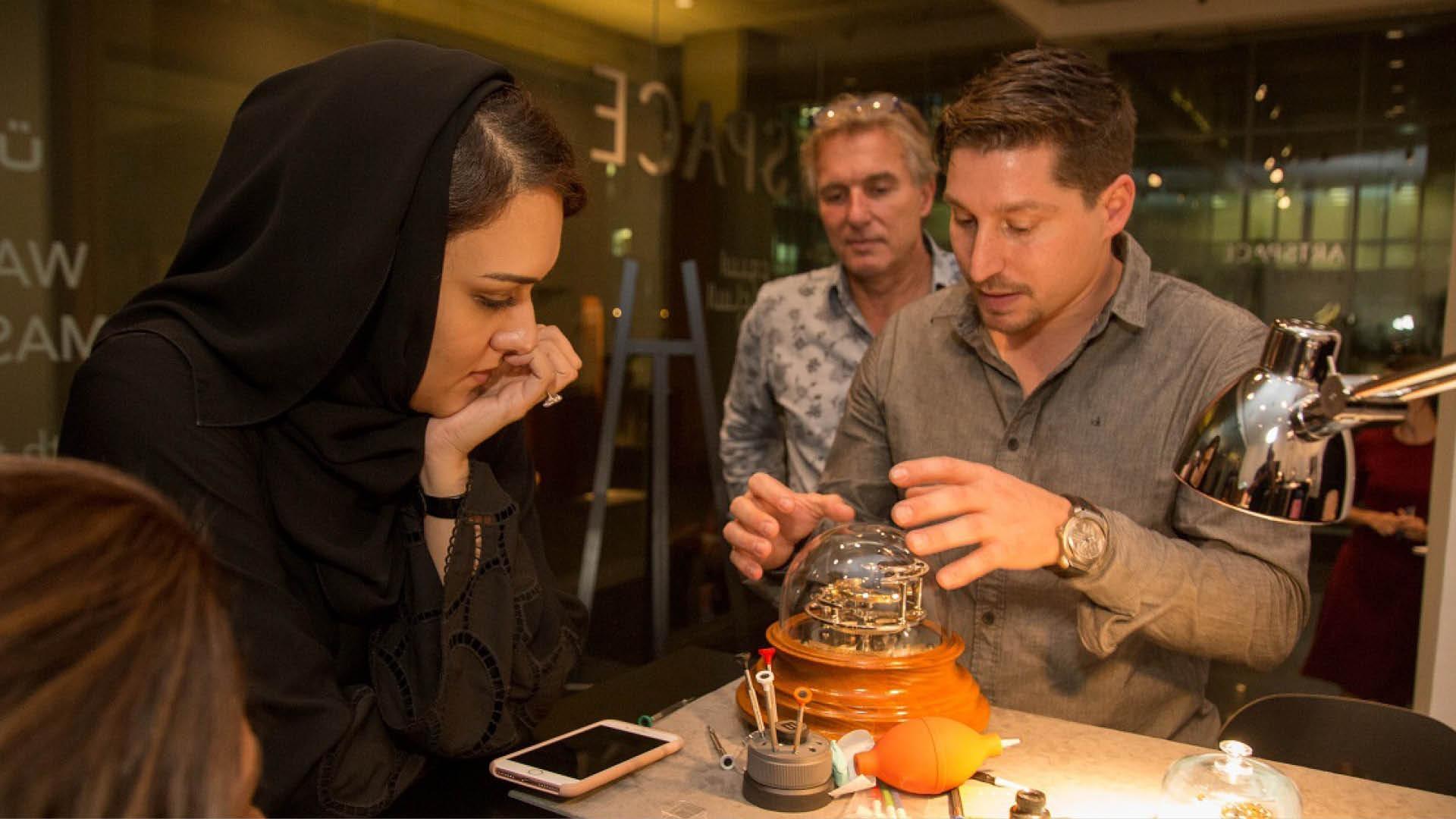 Dubai Watch Week 2017: Interview With Director Melika Yazdjerdi