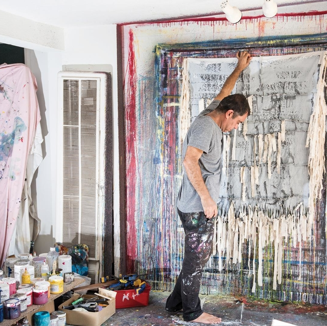 Exclusive Visit To The Studio Of Iranian-American Artist Farzad Kohan