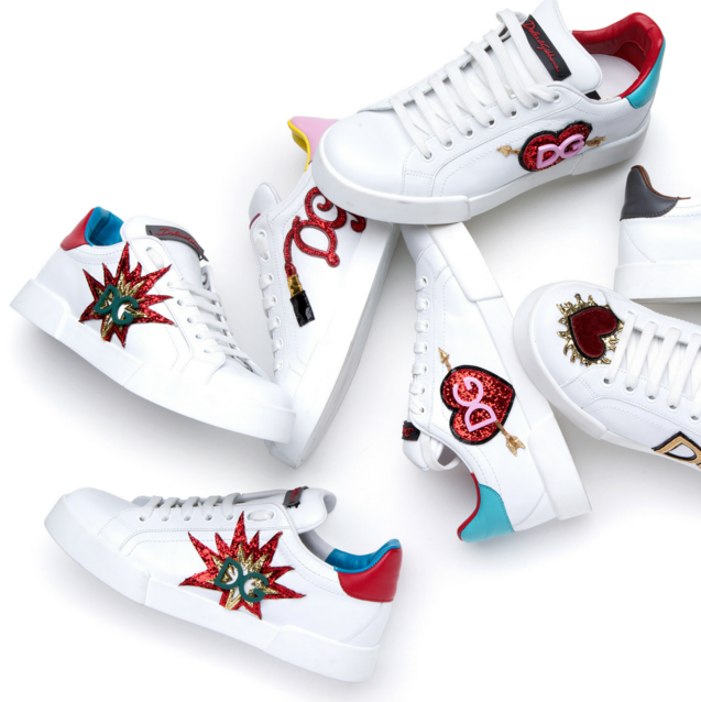 Dolce & Gabbana Opens Sneaker Pop-Up In Dubai