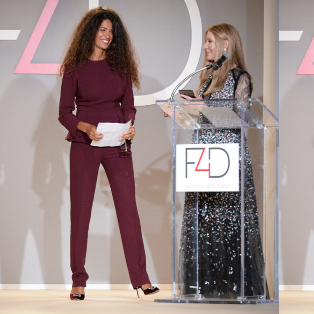 Former Bazaar Cover Star Afef Jnifen Named Ambassador Of Fashion 4 Development