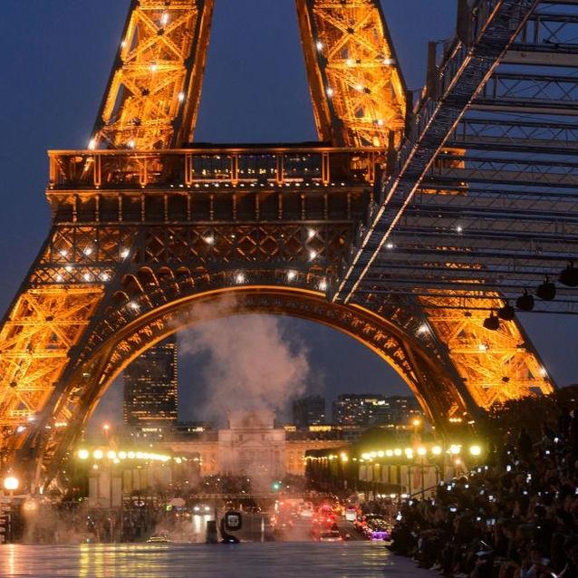 Parisian Nights: Yves Saint Laurent Takes The Runway