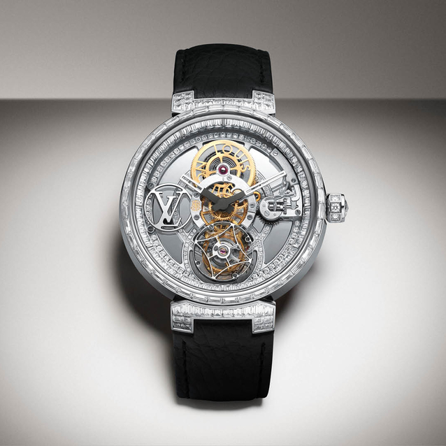 Louis Vuitton Presents Latest Timepiece To Celebrate New Store Opening