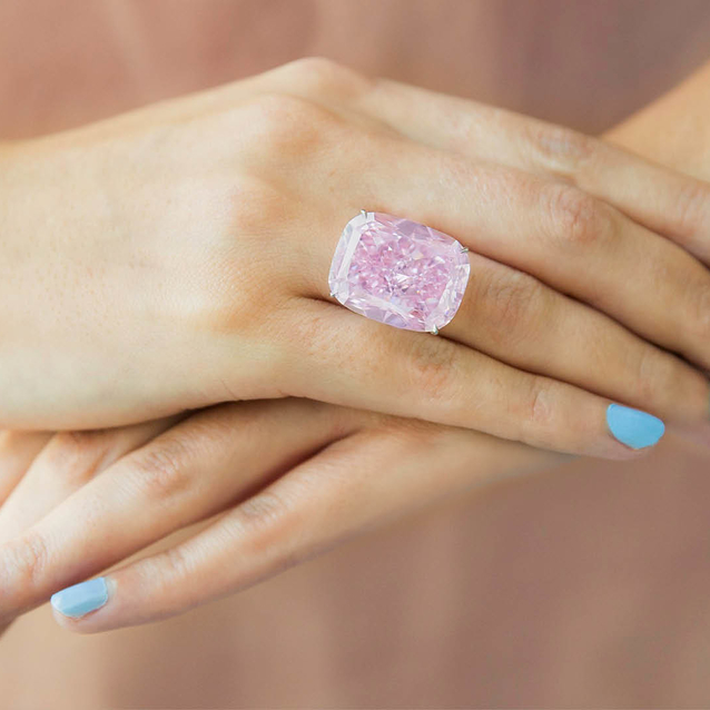 The World's Largest Known Fancy Intense Pink Diamond Is In Dubai