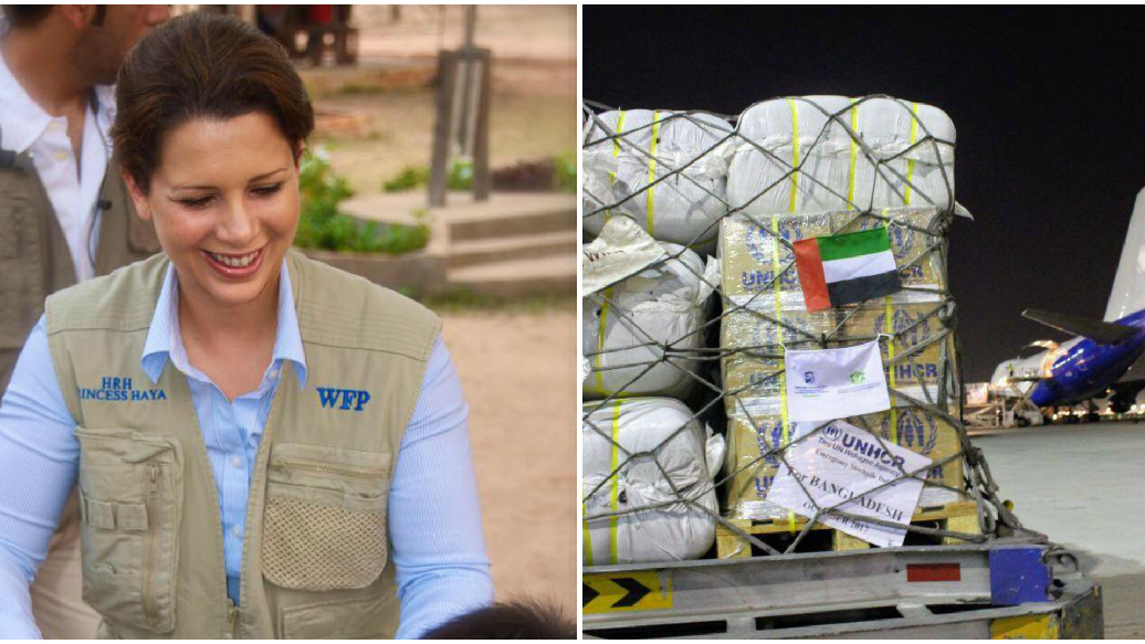 HRH Princess Haya Applauds UAE Generosity Following US$7 Million Pledged To Rohingya Refugees