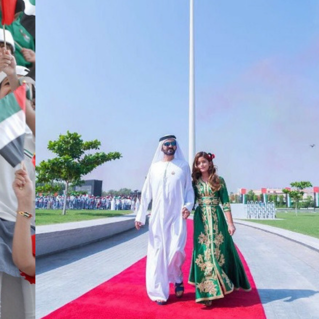 Here's How Sheikh Mohammed Celebrated UAE Flag Day