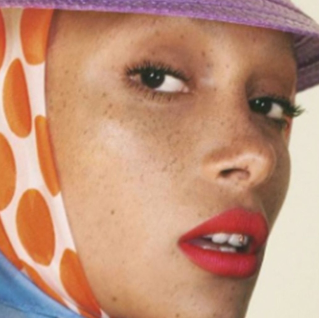 Adwoa Aboah Is The New Face Of Marc Jacobs Beauty