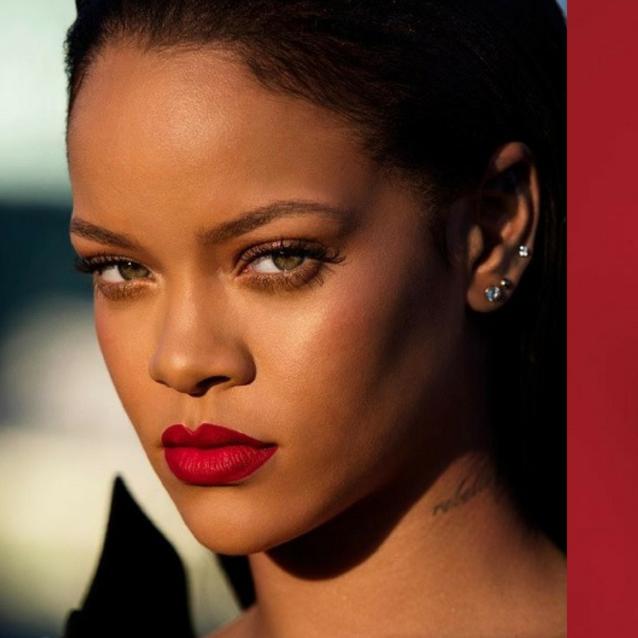 Rihanna's Fenty Beauty Is Dropping A Red Liquid Lipstick