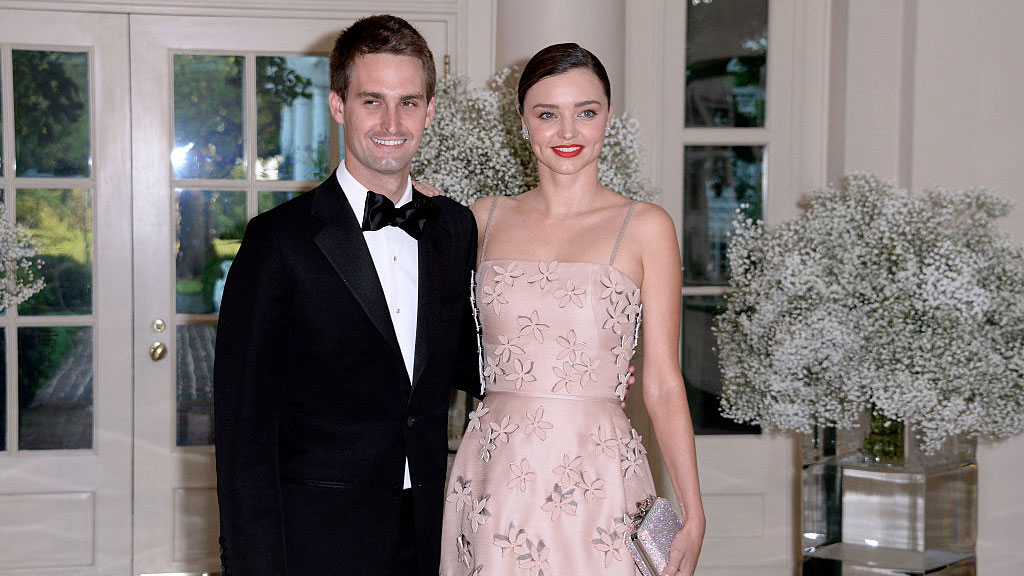 Miranda Kerr Is Expecting Her First Child With Evan Spiegel