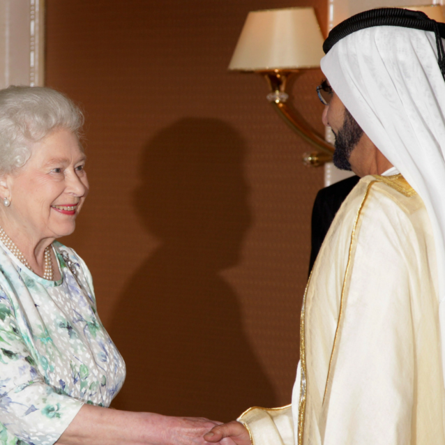 Sheikh Mohammed Wished Queen Elizabeth A Happy Anniversary