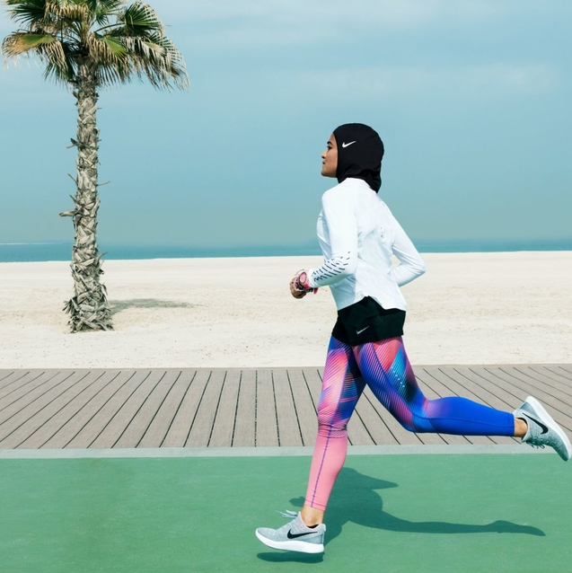 The Nike Pro Hijab Has Been Named One Of The '25 Best Inventions' Of 2017