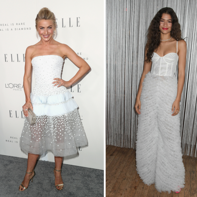 How The Celebs Wear Winter White