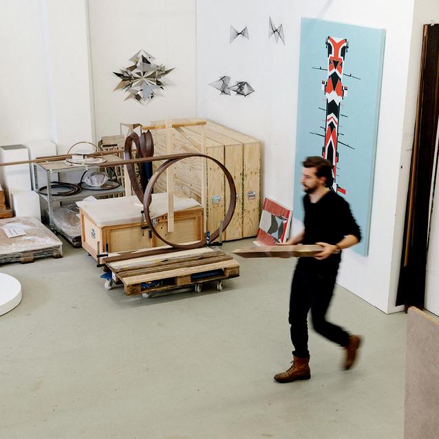 A Visit To German-Iranian Artist Timo Nasseri's Studio