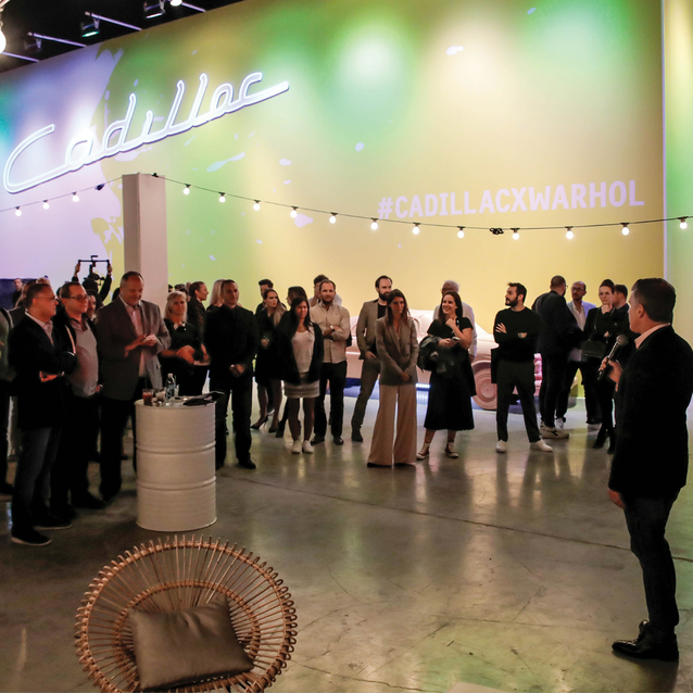 Cadillac Brings 'Letters to Warhol' Exhibition To Dubai