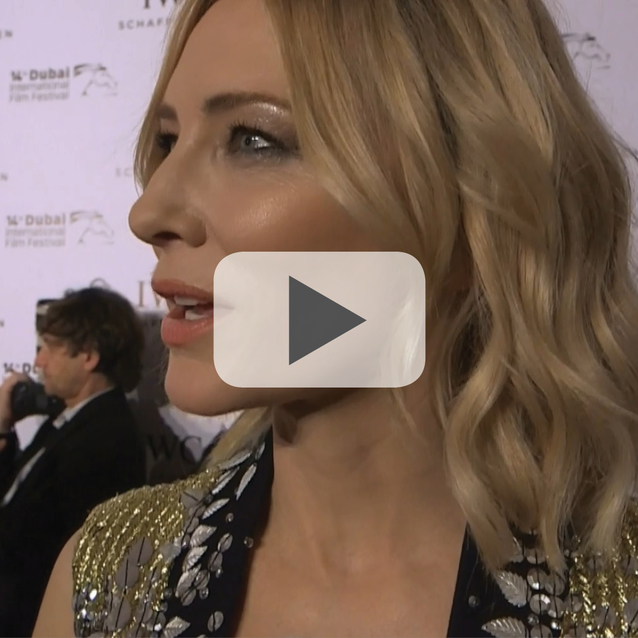 Watch: Cate Blanchett, Jessica Kahawaty and more at the IWC Filmmaker Awards