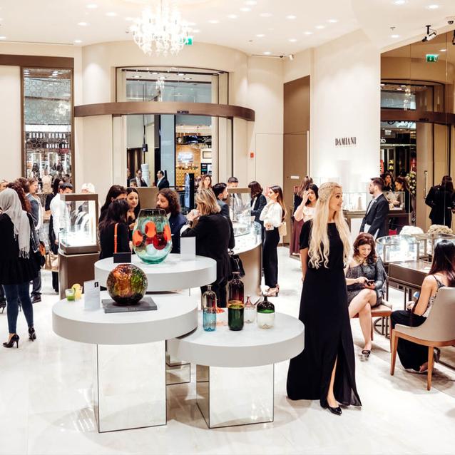 Inside Damiani's New Jewellery Boutique In The Dubai Mall